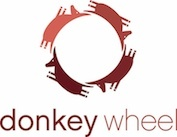 donkey wheel Logo